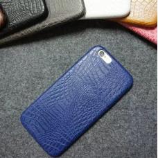 Гръб CROCO IPhone 7 син