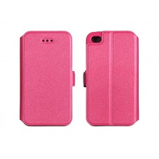 """Калъф с хоризонтално отваряне BOOK Pocket IPhone 6 Plus 5.5"""" розов"""