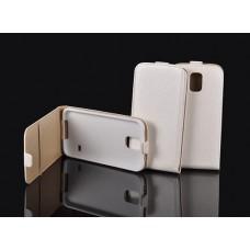 """Калъф с вертикално отваряне POCKET Slim Flip IPhone 6 Plus 5.5"""" бял"""