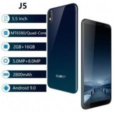"""CUBOT J5, 5.5"""" ,16GB/2GB, Dual SIM, Gradient"""