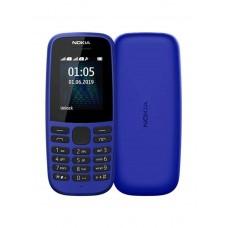 Nokia 105 (2019), Single SIM, Blue, Без БГ меню