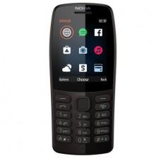 Nokia 210, Dual SIM, 2019, Black
