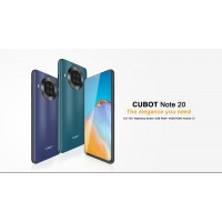 "Cubot Note 20, 6.5"",4G , 3+64GB, NFC, Android 10, Black"