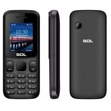 SOL B1805, с батерия 1700mAh, Българско меню, черен