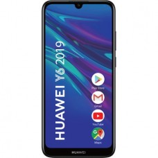Huawei Y6 2019, Single SIM, 32GB, 4G, Midnight Black
